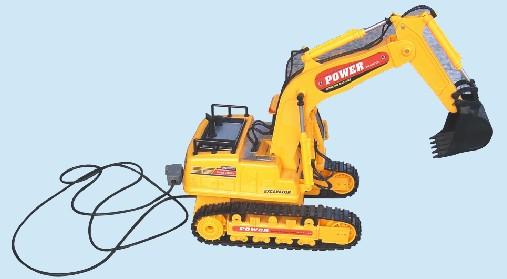 挖土机模型